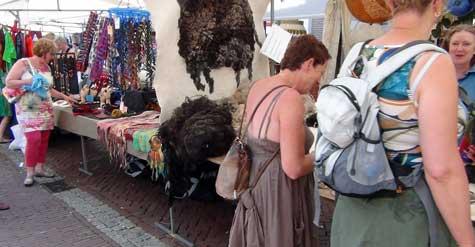 Woensdag markten